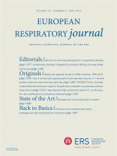 European Respiratory Journal: 45 (5)