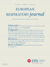 European Respiratory Journal: 45 (6)