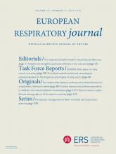 European Respiratory Journal: 46 (1)