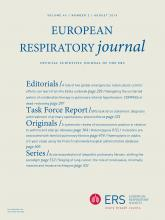 European Respiratory Journal: 46 (2)