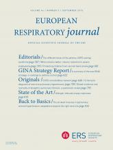 European Respiratory Journal: 46 (3)