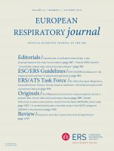 European Respiratory Journal: 46 (4)