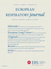 European Respiratory Journal: 46 (5)