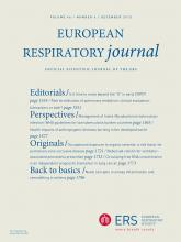 European Respiratory Journal: 46 (6)