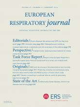 European Respiratory Journal: 47 (2)