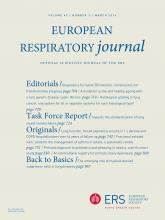 European Respiratory Journal: 47 (3)
