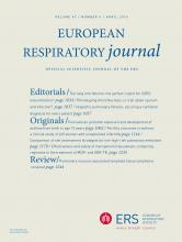European Respiratory Journal: 47 (4)