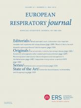 European Respiratory Journal: 47 (5)