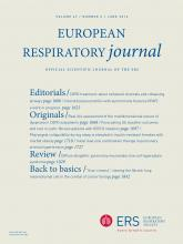 European Respiratory Journal: 47 (6)