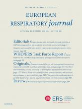 European Respiratory Journal: 48 (1)