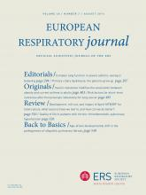 European Respiratory Journal: 48 (2)
