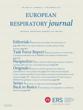 European Respiratory Journal: 48 (3)