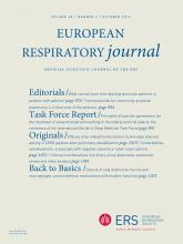 European Respiratory Journal: 48 (4)