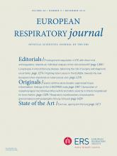 European Respiratory Journal: 48 (5)