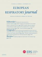 European Respiratory Journal: 48 (6)