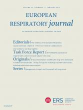 European Respiratory Journal: 49 (1)