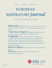 European Respiratory Journal: 49 (2)
