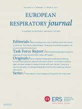 European Respiratory Journal: 49 (3)
