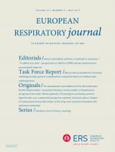 European Respiratory Journal: 49 (5)