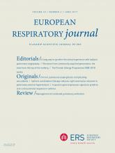 European Respiratory Journal: 49 (6)