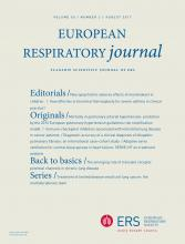 European Respiratory Journal: 50 (2)