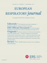 European Respiratory Journal: 50 (5)