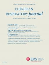 European Respiratory Journal: 50 (6)