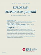 European Respiratory Journal: 51 (1)