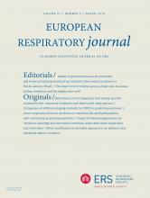 European Respiratory Journal: 51 (3)