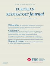 European Respiratory Journal: 51 (4)