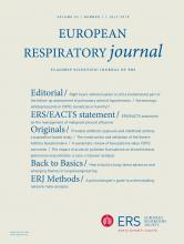 European Respiratory Journal: 52 (1)