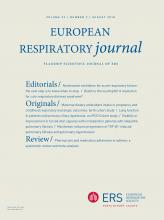 European Respiratory Journal: 52 (2)