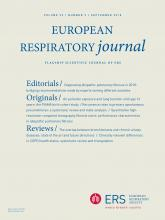 European Respiratory Journal: 52 (3)