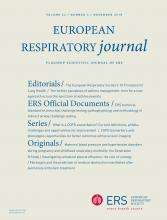 European Respiratory Journal: 52 (5)