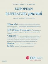 European Respiratory Journal: 52 (6)