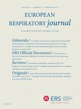 European Respiratory Journal: 53 (2)