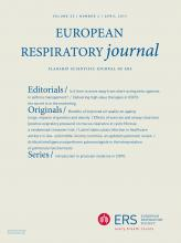 European Respiratory Journal: 53 (4)