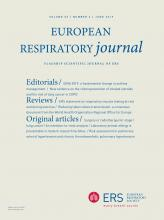 European Respiratory Journal: 53 (6)