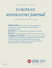 European Respiratory Journal: 54 (2)
