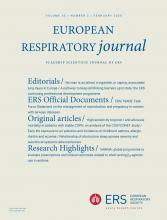 European Respiratory Journal: 55 (2)