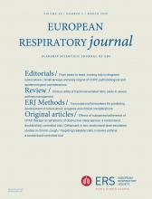 European Respiratory Journal: 55 (3)