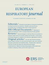 European Respiratory Journal: 55 (6)