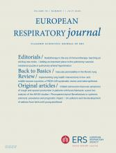European Respiratory Journal: 56 (1)