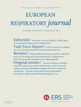 European Respiratory Journal: 56 (3)