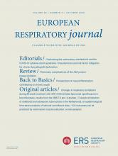 European Respiratory Journal: 56 (4)