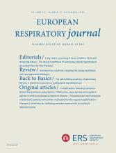European Respiratory Journal: 56 (5)