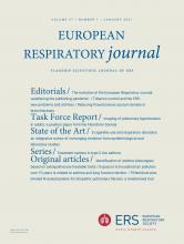 European Respiratory Journal: 57 (1)