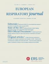 European Respiratory Journal: 57 (3)