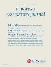 European Respiratory Journal: 58 (1)