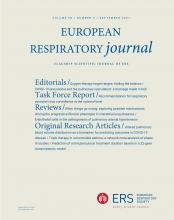 European Respiratory Journal: 58 (3)